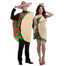 couples costume buy taco couples costume