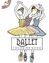 ballerina coloring book relaxing coloring pages adults
