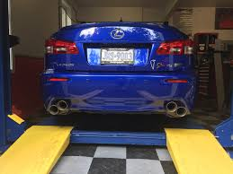 lexus isf for sale calgary oem quad tips vs aftermarket quad tips page 2 clublexus