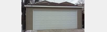 Two Door Garage by Master American Garage