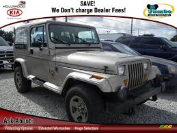 1993 jeep for sale 1993 jeep wrangler 4x4 in light chagne metallic 261667