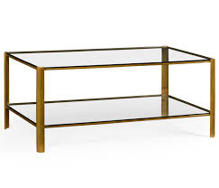 Glass Rectangle Coffee Table Glass Coffee Table