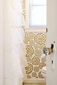Glam Bathroom Ideas Gold Glam Bathroom Makeover White Bathrooms Wallpaper And Tutorials