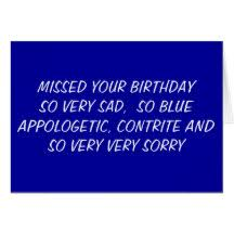 Image Gallery I Messed Up - messed up birthday cards gallery birthday cards ideas