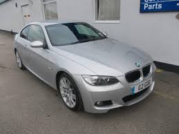 used bmw 3 series uk used bmw 3 series 2007 model 320d m sport diesel coupe silver for