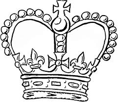 crown printables kids coloring