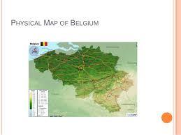 physical map of belgium politics of belgium