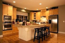 kitchen colors with oak cabinets and black countertops savae org
