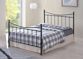 furniturekraze ltd alderley black metal bed