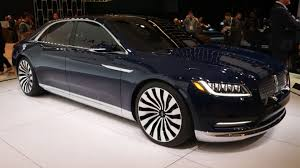 Lincoln Continental Price Lincoln Continental Concept New York 2015 Photo Gallery Autoblog