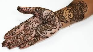 simple mehndi designs for half me11