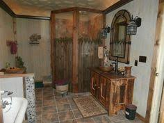 Rustic Bathroom Shower Ideas - love this big copper tub with barnwood walls for the home