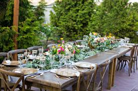 wedding table rentals rental catalogue lake chelan wedding rentals
