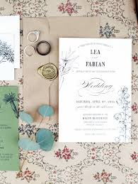 Backyard Wedding Invitations Handcrafted Mismatched Backyard Wedding Ruffled
