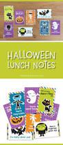Halloween Kids Printables by Halloween Lunch Notes For Kids Printables Halloween