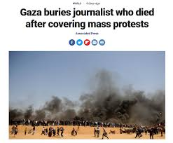sle resume format for journalists arrested or restrained at dapl ap gaza buries journalist png