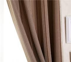 Blackout Drapery Fabric Two Tone Blackout Curtain Fabric