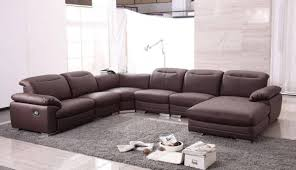 U Shaped Leather Sectional Sofa The Best U Shaped Leather Sectional Sofa