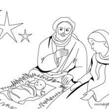 baby jesus coloring page nativity scene coloring pages hellokids com