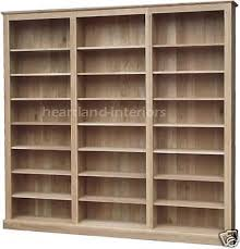 Ebay Bookcases Details About Solid Oak Bookcase 7ft X 8ft 10