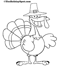 thanksgiving turkey to color my free printable coloring pages