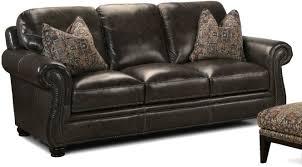 Leather Blend Sofa Simon Li Living Room Charleston Leather Sofa 048570 Furniture
