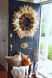 lowes open on thanksgiving 2014 indian corn wreath diy stonegable
