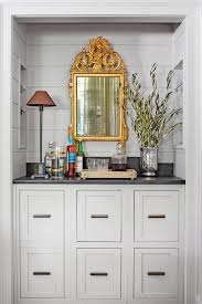 Bar Mirror With Shelves by 6 Secrets To Steal For Bigger And Better Storage Southern Living