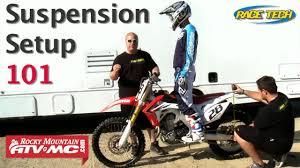 motocross bike weight basic suspension setup on a motorcycle youtube