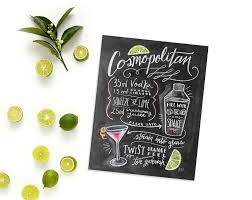cosmopolitan martini recipe lily u0026 val u2013 cosmopolitan cocktail print recipe print