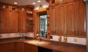 red oak kitchen cabinets home design