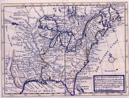 Blank 13 Colonies Map by 1720 U0027s Pennsylvania Maps