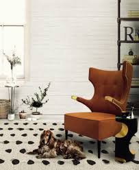 High Back Wing Chairs For Living Room by 26 Beautiful Armchairs That Add To Your Home U0027s Modern Vibe