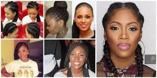 ghanaian hairstyles tiwa savage and her ghanaian braids here is how to wear ghana