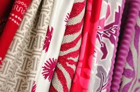 Ikat Home Decor by Decor Riya Red And Blue Duralee Fabrics For Home Decoration Ideas