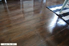 What Is Laminate Flooring Made From Faux Wood Plank Floors Using Brown Paper Remodelaholic Bloglovin U0027