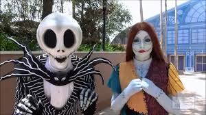 nightmare before christmas characters jack and sally youtube