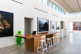 Hotel Lobby Reception Desk by 21c Museum Hotel Bentonville U2013 Work U2013 Deborah Berke Partners