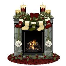archivoclinico christmas fireplace with stockings 2 images
