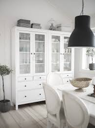 White Sideboard With Glass Doors by Sideboards Extraordinary Dining Room Hutch Ikea Dining Room