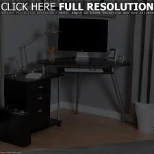 Small Desk Brown Furniture Home Beauty Design Of The Black Desk With Drawers With