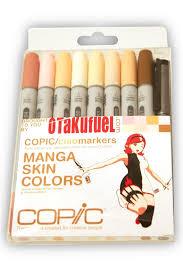 ciao manga kit skin tone colors marker set otakufuel hime package