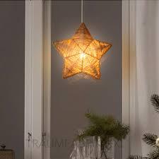 Esszimmer Lampe Braun Ikea Strala Leuchtenschirm Hängeleuchte Braun Stern 36cm