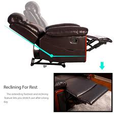 power massage reclining chair with heat and massage heated