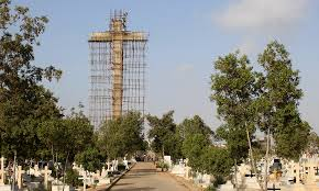 Flag Of Pakistan Pic Asia U0027s Largest Cross U2014 A Symbol Of Hope For Karachi U0027s Christians