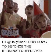 Bow Down Meme - rt bow down to beyonce the illuminati queen vmas beyonce meme on