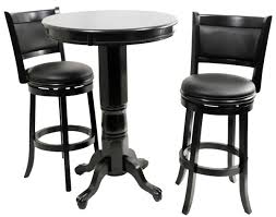 black high table and chairs pub tables sets christian s table