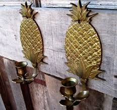 Pineapple Wall Sconce Decorative Collectibles