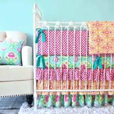 Dahlia Crib Bedding Decoration Dahlia Nursery Bedding Mint Crib By The Peanut Shell