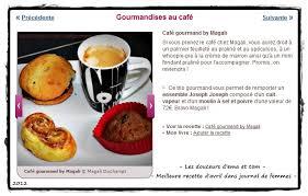 le journal des femmes cuisine mon livre les douceurs d ema et tom café gourmand élu meilleure recette d